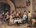 Twelfth-night (The King Drinks) 1634-40 - David The Younger Teniers