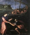 St Peter Walking on the Water 1590 - Alessandro Allori
