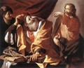 The Calling of St Matthew c. 1616 - Hendrick Terbrugghen