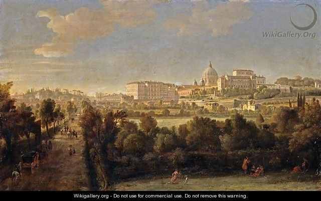 Rome- View of St Peter