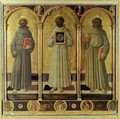 Three Franciscan Saints c. 1470 - Domenico Di Michelino