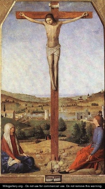 Crucifixion - Antonello da Messina Messina