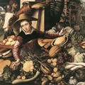 Market Woman With Vegetable Stall 1567 - Pieter Aertsen