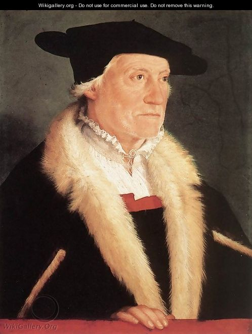 Portrait Of The Cosmographer Sebastien Münster 1552 - Christoph Amberger