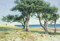 Old Olive Trees, Bordighera - Edwin Bale