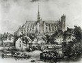 View of the Cathedral of Notre Dame, Amiens, from Pont Dudon - Eugene Balan