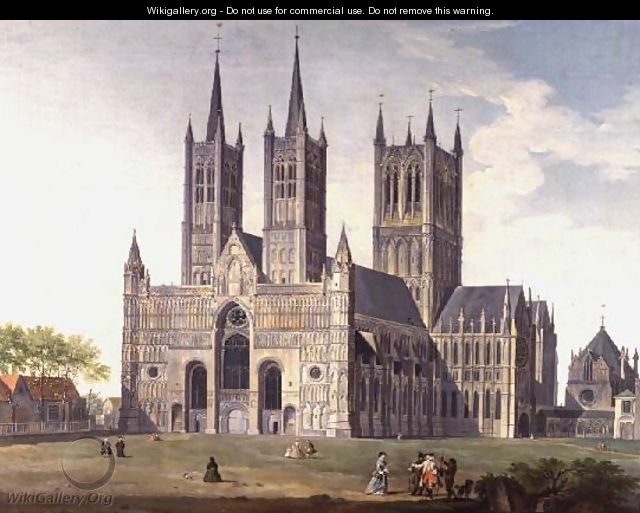Lincoln Cathedral from the West - Joseph Baker