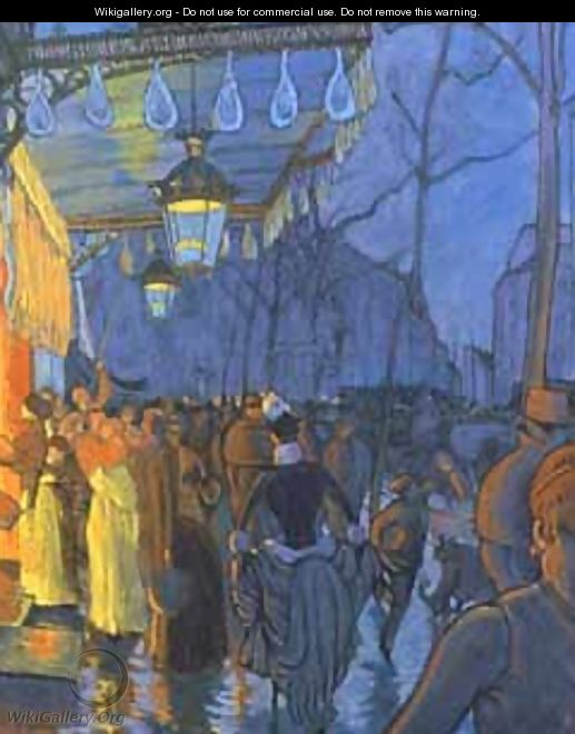 Street Scene, at Five in the Afternoon, 1887 - Louis Anquetin