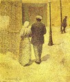 A Couple in the Street, 1887 - Charles Angrand