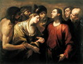 Christ and the Woman taken in Adultery - Gioacchino Assereto