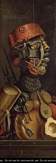 The Cook - Giuseppe Arcimboldo