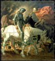 Don Quixote with Death, based on