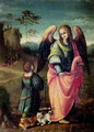 Tobias and the Angel - Francesco Ubertini Verdi Bachiacca