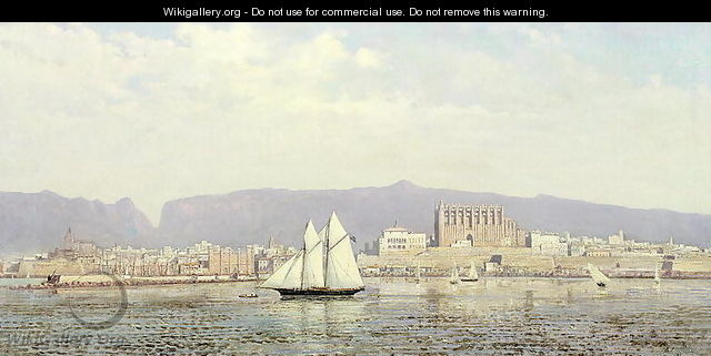 View of the Harbour, Palma - Ricardo Ankermann y Riera