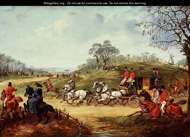 Going to the Meet - Henry Thomas Alken