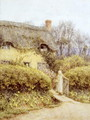 Cottage near Freshwater - Helen Mary Elizabeth Allingham, R.W.S.
