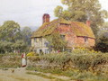 A Surrey Cottage - Helen Mary Elizabeth Allingham, R.W.S.