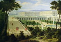 The Orangerie at the Chateau de Versailles - Etienne Allegrain