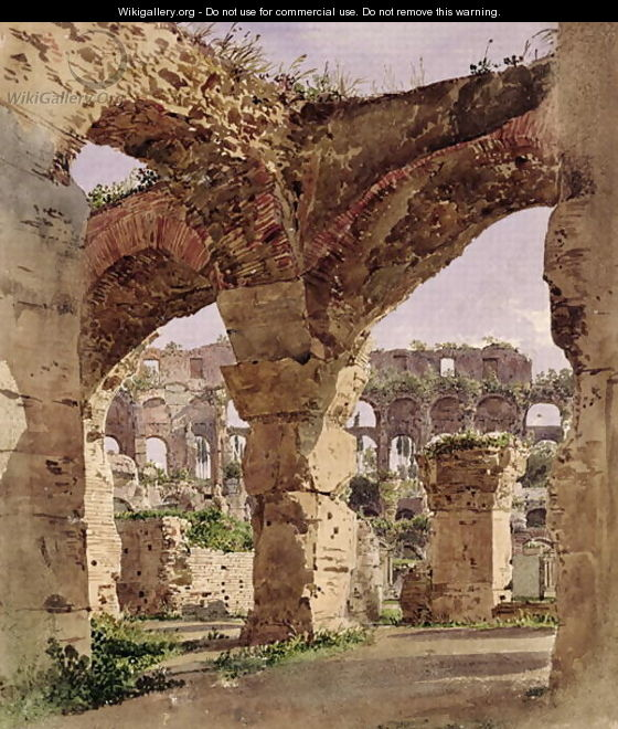 The Colosseum, Rome 1835 - Rudolf Ritter von Alt