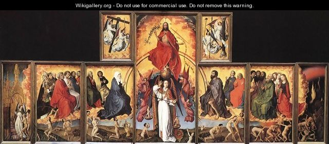 The Last Judgment Polyptych 1446-52 - Rogier van der Weyden