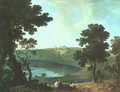 Lake Albano and Castel Gandolfo 1754 - Richard Wilson