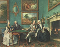 The Dutton Family (approx. 1765) - Johann Zoffany