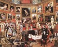 The Tribuna of the Uffizi 1772-78 - Johann Zoffany