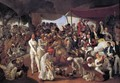Colonel Mordaunt's Cock Match 1784-86 - Johann Zoffany