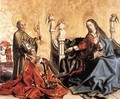 Presentation of Cardinal de Mies to the Virgin 1443-44 - Konrad Witz