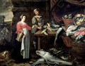 The Fishmonger - Alexander Adriaenssen