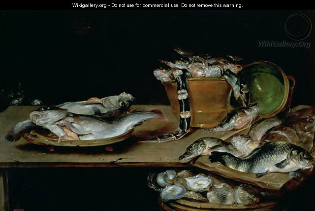 Still Life with Fish 2 - Alexander Adriaenssen