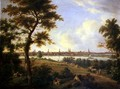 View of Lubeck 1869 - Andreas Achenbach
