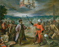 Allegory of the Turkish Wars- The Declaration of War at Constantinople, 1603-04 - Hans Von Aachen