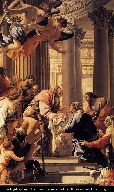 Presentation in the Temple 1640-41 - Simon Vouet