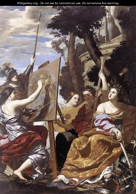 Allegory of Peace c. 1627 - Simon Vouet