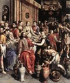 The Marriage at Cana 1596-97 - Maarten de Vos