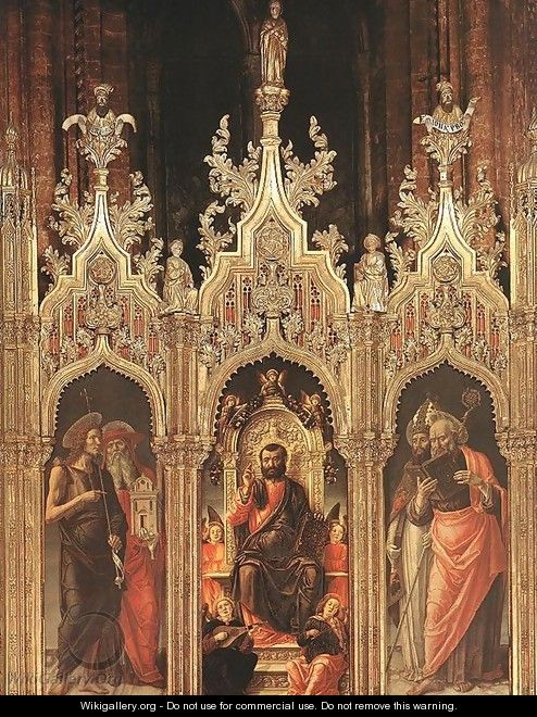 Triptych of St Mark 1474 - Bartolomeo Vivarini