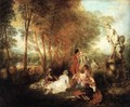 The Festival of Love c. 1717 - Jean-Antoine Watteau