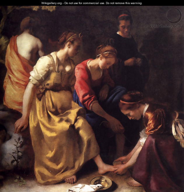 Diana and her Companions 1655-56 - Jan Vermeer Van Delft
