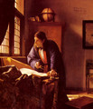 The Geographer c. 1668 - Jan Vermeer Van Delft