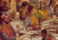 The Marriage at Cana (detail-1) 1563 - Paolo Veronese (Caliari)