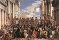 The Marriage at Cana 1563 - Paolo Veronese (Caliari)