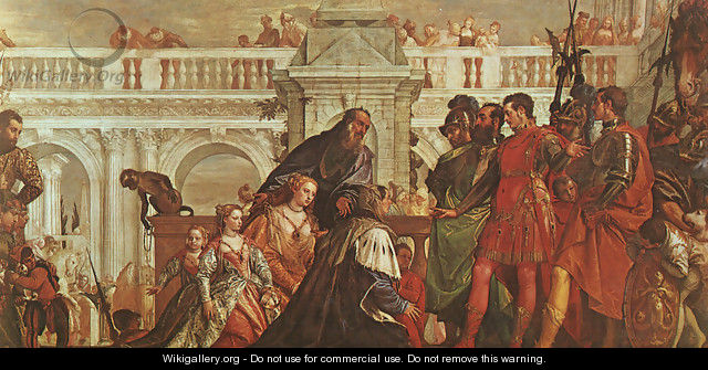 The Family of Darius before Alexander 1565-70 - Paolo Veronese (Caliari)