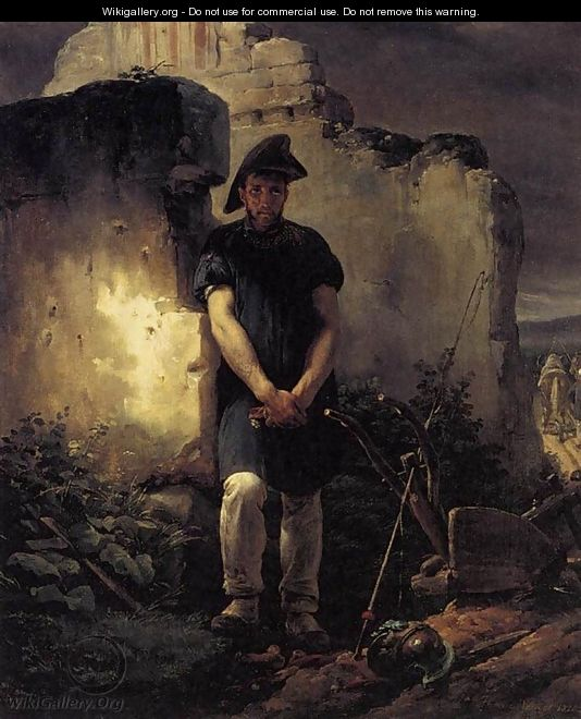 Soldier-Labourer 1820 - Horace Vernet