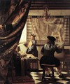 The Artist's Studio 1665 - Jan Vermeer Van Delft