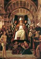 Altarpiece of St Ambrose 1503 - Alvise Vivarini