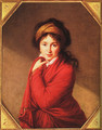 Portrait of Countess Golovine 1797-1800 - Elisabeth Vigee-Lebrun