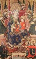Madonna with Angels Playing Music and Donor 1439 - Spanish Unknown Masters