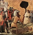 Scenes from the Life of St Colomba (Beheading of St Colomba) c. 1340 - Italian Unknown Masters