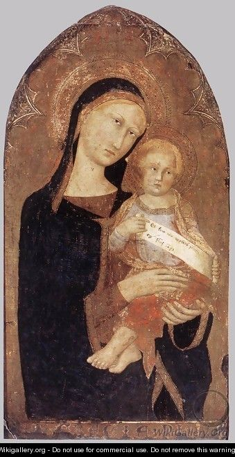 Madonna and Child 1330s - Italian Unknown Masters